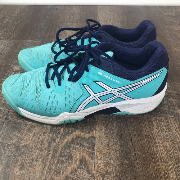 Asics Gel Resolution Youth Tennis Shoes